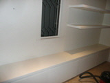 storage shelving space