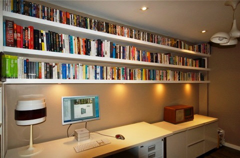 home office cabinets and shelving installations in London
